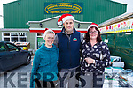 Enjoying the Christmas shopping Sheehy's Hardware in Abbeyfeale<br /> L-r, Kadie Colbert, Seamus Murphy (Staff) and Helen Dee (Abbeyfeale).