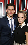 Casey Cott and Stephanie Styles attends the Broadway Opening Night performance of 'Bandstand' at the Bernard B. Jacobs Theatre on 4/26/2017 in New York City.