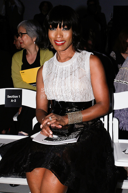 "Actress Angela Bassett attends the 115th Annual Pratt Institute 2014 ""Under Construction"" collection Student Runway Show; at Center548 in NYC, on May 1, 2014."