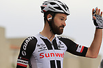 Simon Geschke (GER) Team Sunweb at sign on before Stage 2 of the 100th edition of the Giro d'Italia 2017, running 221km from Olbia to Tortoli, Sardinia, Italy. 6th May 2017.<br /> Picture: Eoin Clarke | Cyclefile<br /> <br /> <br /> All photos usage must carry mandatory copyright credit (&copy; Cyclefile | Eoin Clarke)