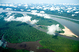 BRAZIL,  Amazon Jungle landscape shot from an airplane