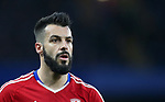 Middlesbrough's Alvarao Negredo in action during the Premier League match at Stamford Bridge Stadium, London. Picture date: May 8th, 2017. Pic credit should read: David Klein/Sportimage