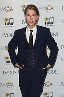 Tom O'Dell arriving for the 59th Ivor Novello Awards, at the Grosvenor House Hotel, London. 22/05/2014 Picture by: Alexandra Glen / Featureflash