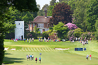 The 3rd fairway and green during the BMW PGA Golf Championship at Wentworth Golf Course, Wentworth Drive, Virginia Water, England on 25 May 2017. Photo by Steve McCarthy/PRiME Media Images.