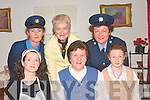 Cast members of Panic in Nutgrove Place which was performed in Glo?rach Abbeyfeale on Thursday night,  front l-r Marian Goulding (Martha), Mary Murphy (Virginna Popplewell), Breda O'Donnell (Miss Millcent Popplewell).  Back l-r Carmel O'Donnell (Ban Garda Waugh), Lesley Collins (Mrs. Emily McWilliams), Angeline O'Donnell ( Serg. Shine..   Copyright Kerry's Eye 2008
