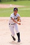 #3 Ono Ayumi of Japan in action during the BFA Women's Baseball Asian Cup match between Japan and India at Sai Tso Wan Recreation Ground on September 6, 2017 in Hong Kong. Photo by Marcio Rodrigo Machado / Power Sport Images