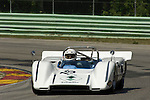 Jim Simplson in his 1970 McLaren M8C a the Brian Redman International Challenge at Road America, 2005.