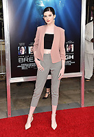 WESTWOOD, CA - APRIL 11: Maggie Martin attends the premiere of 20th Century Fox's 'Breakthrough' at Westwood Regency Theater on April 11, 2019 in Los Angeles, California.<br /> CAP/ROT/TM<br /> &copy;TM/ROT/Capital Pictures