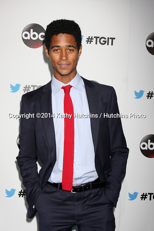 LOS ANGELES - SEP 20:  Alfred Enoch at the TGIT Premiere Event for Grey's Anatomy, Scandal, How to Get Away With Murder at Palihouse on September 20, 2014 in West Hollywood, CA