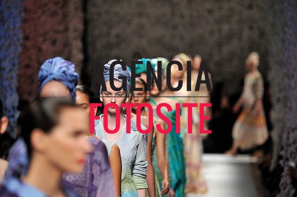 Milao, It&aacute;lia &sbquo;09/2014 - Desfile de Missoni durante a Semana de moda de Nova Milao  -  Verao 2015. <br /> <br /> Foto: FOTOSITE