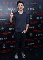 WEST HOLLYWOOD, CA, USA - SEPTEMBER 21: John Cho arrives at the John Varvatos #PeaceRocks Ringo Starr Private Concert held at the John Varvatos Boutique on September 21, 2014 in West Hollywood, California, United States. (Photo by Xavier Collin/Celebrity Monitor)
