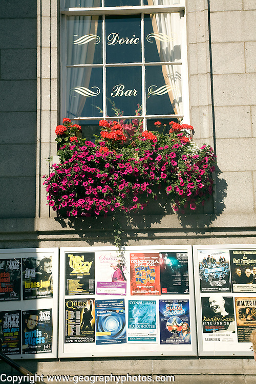 The Doric bar, The Music Hall, Union Street, Aberdeen
