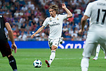 Real Madrid Luka Modric during Santiago Bernabeu Trophy match at Santiago Bernabeu Stadium in Madrid, Spain. August 11, 2018. (ALTERPHOTOS/Borja B.Hojas)