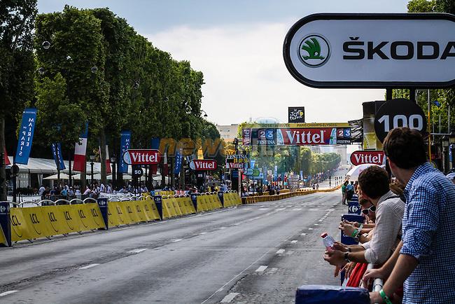 Arrivee, Tour de France, Stage 21: Évry > Paris Champs-Élysées, UCI WorldTour, 2.UWT, Paris Champs-Élysées, France, 27th July 2014, Photo by Pim Nijland