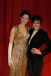 "As The World Turns' Colleen Zenk poses with her daughter Kelsey Crouch as Kelsey stars in ""Gypsy"" as Louise to become Gypsy Rose Lee on March 15, 2014 at Capital Repertory Theatre, Albany, New York. It continues til April 13. (Photo by Sue Coflin/Max Photos)"
