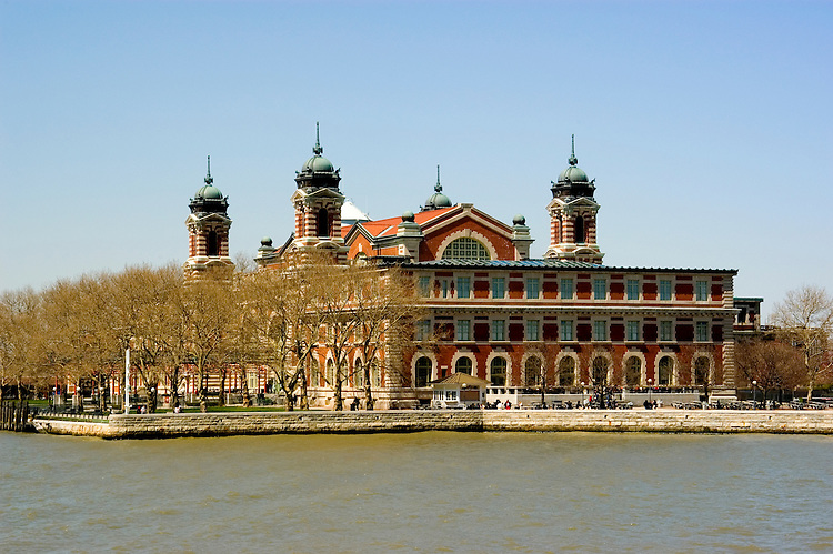 New York City, New York:  Ellis Island, immigrant gateway  .Photo #: ny208-14659  .Photo copyright Lee Foster, www.fostertravel.com, lee@fostertravel.com, 510-549-2202.