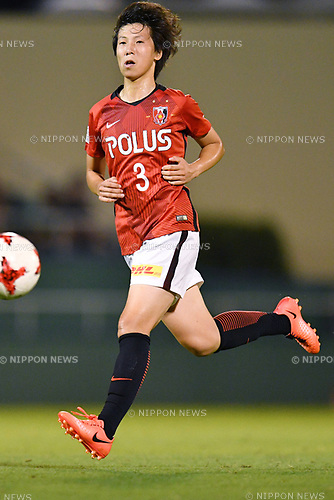 Shio Takahata (Reds Ladies), <br /> AUGUST 12, 2017 - Football / Soccer : <br /> Plenus Nadeshiko League Cup 2017 Division 1 <br /> Final match between JEF United Ichihara Chiba Ladies 1-0 Urawa Reds Ladies<br /> at Nishigaoka Soccer Stadium in Tokyo, Japan. <br /> (Photo by MATSUO.K/AFLO)