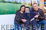 Ronan Foley Killarney with his parents Tony and Caroline
