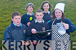 Students at Pobailscoil Sliabh Luachra who are in the finals of the NCD Milk Advertising Awards for their advertising campaign to encourage students to use more milk. .Front L-R Tim Murphy, Emer O'Keeffe, Claire Smyth .Back L-R Ciara O'Connell and Anthony Nagle.