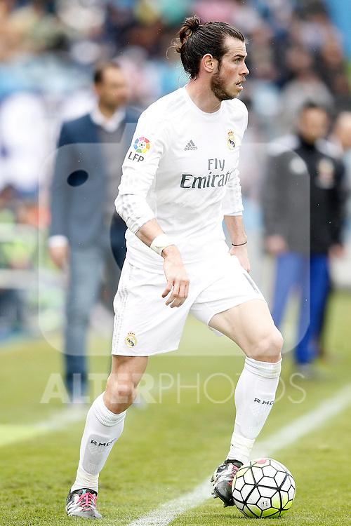 Real Madrid's Gareth Bale during La Liga match. April 16,2016. (ALTERPHOTOS/Acero)