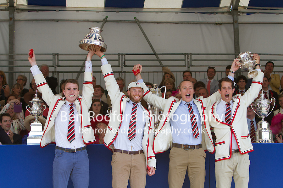 Prize Giving<br /> <br /> Sunday - Henley Royal Regatta {iptcyear4}<br /> <br /> To purchase this photo, or to see pricing information for Prints and Downloads, click the blue 'Add to Cart' button at the top-right of the page.