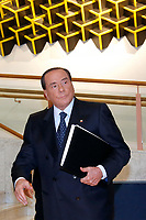 Silvio Berlusconi<br /> Roma 26/07/2018. Aula dei Gruppi. Assemblea di Forza Italia.<br /> Rome 26th of July. Assembly of Forza Italia Party.<br /> Foto Samantha Zucchi Insidefoto