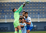 Munir (Malaga CF) seen in action during La Liga Smartbank match round 39 between Malaga CF and RC Deportivo de la Coruna at La Rosaleda Stadium in Malaga, Spain, as the season resumed following a three-month absence due to the novel coronavirus COVID-19 pandemic. Jul 03, 2020. (ALTERPHOTOS/Manu R.B.)