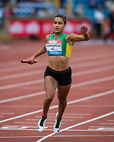 Charnwood AC finish 3rd in the 4x100m Realay Women - Connect: Connect Under 20 during the Muller Grand Prix Birmingham Athletics at Alexandra Stadium, Birmingham, England on 20 August 2017. Photo by Andy Rowland.