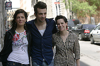 Montreal (Qc) CANADA - May 2010 -The Trotsky written and directed by <br /> Jacob Tierney : Anne-Marie Cadieux, Jay Baruchel, Emily Hampshire
