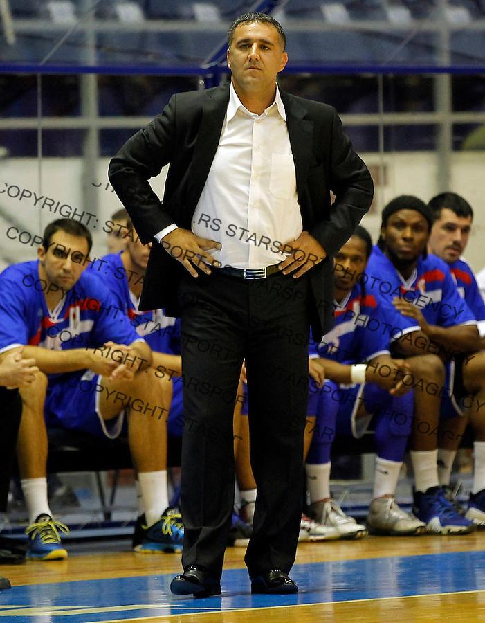 Kosarka ABA League season 2013-2014<br /> Partizan Vs. Igokea (Aleksandrovac)<br /> Head coach Dragan Bajic<br /> Beograd, 06.10.2013.<br /> foto: Srdjan Stevanovic/Starsportphoto &copy;