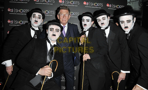 John Hurt &amp; Charlie Chaplin 'lookalikes'<br /> Virgin Media Shorts Awards ceremony, BFI Southbank, Belvedere Road, London, England 10th November 2011<br /> CAP/CAN<br /> &copy;Can Nguyen/Capital Pictures
