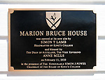 Opening of Marion Bruce House at King's College, 11 February 2020.