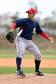 March 22, 2010:  Pitcher Daniel Rosenbaum of the Washington Nationals organization during Spring Training at the Carl Barger Training Complex in Melbourne, FL.  Photo By Mike Janes/Four Seam Images