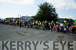 The long line of fans waiting to see the kerry players at the Kerry GAA family day at Fitzgerald Stadium  on Sunday
