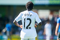 Nathan Dyer of Swansea City during the Pre Season friendly match between Swansea City and Rovers played at the Memorial Stadium, Bristol on July 23rd 2016