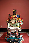 The Chief of Bechem in the Brong Ahafo region on his throne