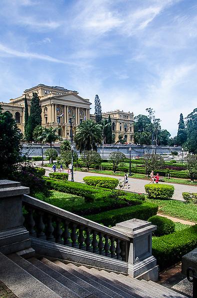 Museu Paulista da Universidade de São Paulo, conhecido como Museu do Ipiranga, São Paulo - SP, 03/2013.
