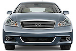 Straight front view of a 2008 Infiniti M35