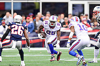 Sunday, October 2, 2016: Buffalo Bills running back LeSean McCoy (25) runs the ball during the NFL game between the Buffalo Bills and the New England Patriots held at Gillette Stadium in Foxborough Massachusetts. Buffalo defeats New England 16-0. Eric Canha/Cal Sport Media