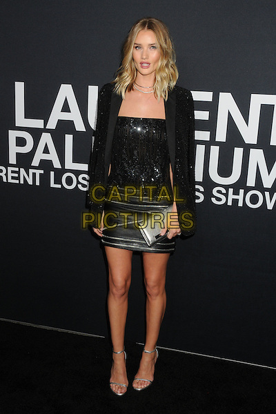 10 February 2016 - Los Angeles, California - Rosie Huntington-Whiteley. Saint Laurent At The Palladium held at the Hollywood Palladium. <br /> CAP/ADM/BP<br /> &copy;BP/ADM/Capital Pictures