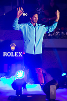 Fernando Verdasco during the match of the Charity day previus at Madrid Open Tenis 2017in  Madrid, Spain. May 04, 2017. (ALTERPHOTOS/Rodrigo Jimenez) /NORTEPHOTO.COM