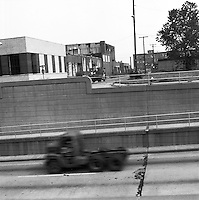 1972 August 29..Redevelopment...Education Center Project.Liquid Carbide Building.May Street & Virginia Beach Boulevard..Lanny Provo.NEG# MDA 72-74-4.NRHA#..