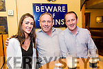 Maloney Reunion at stokers Lodge on Saturday. Pictured Jenna Maloney O'Sullivan, Ed O'Brien and Michael O'Sullivan