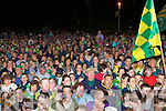 Crowd salutes its heroes in Glenbeigh on tuesday night