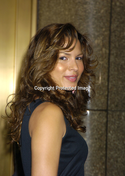 Nadine Velazquez of of My Name is Earl ..at The NBC Universal Upfront announcement of their new ..Schedule on May 16, 2005 at Radio City Music Hall. ..Photo by Robin Platzer, Twin Images