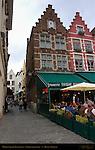Market Square Restaurants, Geernartstraat, Bruges, Brugge, Belgium
