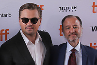 """TORONTO, ONTARIO - SEPTEMBER 08: Leonardo DiCaprio and Fisher Stevens attends the """"And We Go Green"""" premiere during the 2019 Toronto International Film Festival at Ryerson Theatre on September 08, 2019 in Toronto, Canada. Photo: <br /> CAP/MPI/IS/PICJER<br /> ©PICJER/IS/MPI/Capital Pictures"""