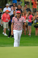 Keegan Bradley (USA) walks onto the 9th green during Sunday's Final Round of the 2012 World Golf Championship Bridgestone Invitational at The Firestone Country Club, Akron, Ohio, USA 5th August 2012 (Photo Eoin Clarke/www.golffile.ie)