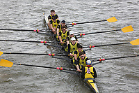 Crew: 6   Hampton School Boat Club   Championship Eights<br /> <br /> Schools' Head of the River 2018<br /> <br /> To purchase this photo, or to see pricing information for Prints and Downloads, click the blue 'Add to Cart' button at the top-right of the page.