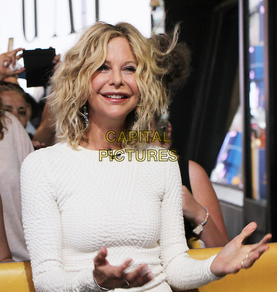 NEW YORK, NY-September 06: Meg Ryan  at  Good Morning America to talk about directing her first movie Ithaca in New York. NY September 06, 2016. <br /> CAP/MPI/RW<br /> &copy;RW/MPI/Capital Pictures